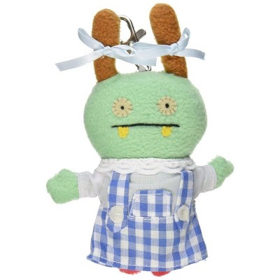 "Enesco Ugly Dolls Wizard of Oz 5"" Plush Clip-On: Moxy as Dorothy"