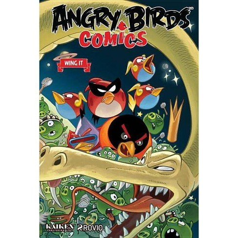 Angry Birds Comics Volume 6: Wing It - (Angry Bird Comics) (Hardcover) - image 1 of 1