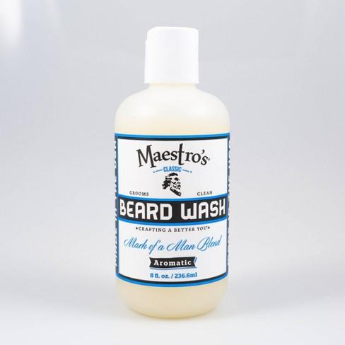 Maestro's Classic Beard Wash Mark of a Man Blend – 8.0 oz - image 1 of 3