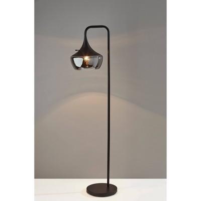 Eliza Floor Lamp Black - Adesso