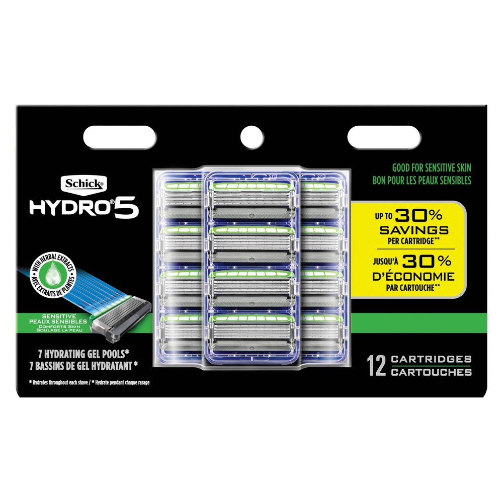 Image of Hydro Men's Sensitive Refills - 12ct