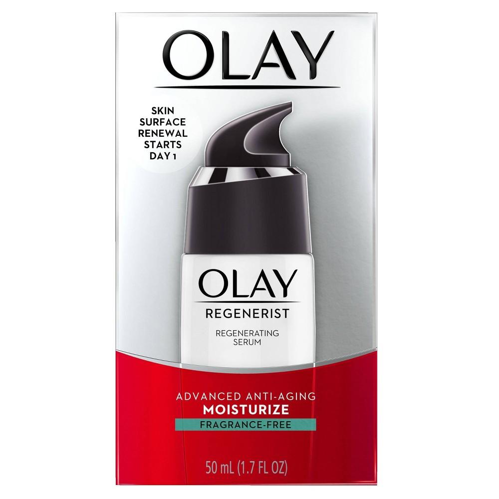 Olay Regenerist Fragrance Free Regenerating Face Serum 1 7 Fl Oz