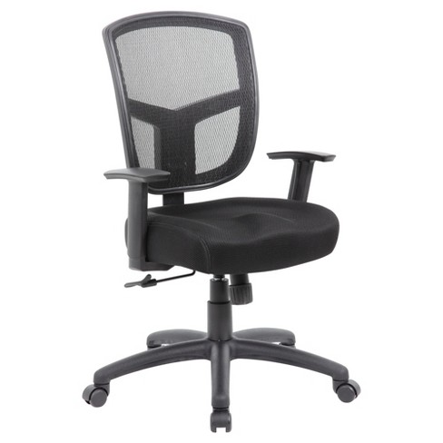 Contract Mesh Task Chair Black - Boss - image 1 of 4