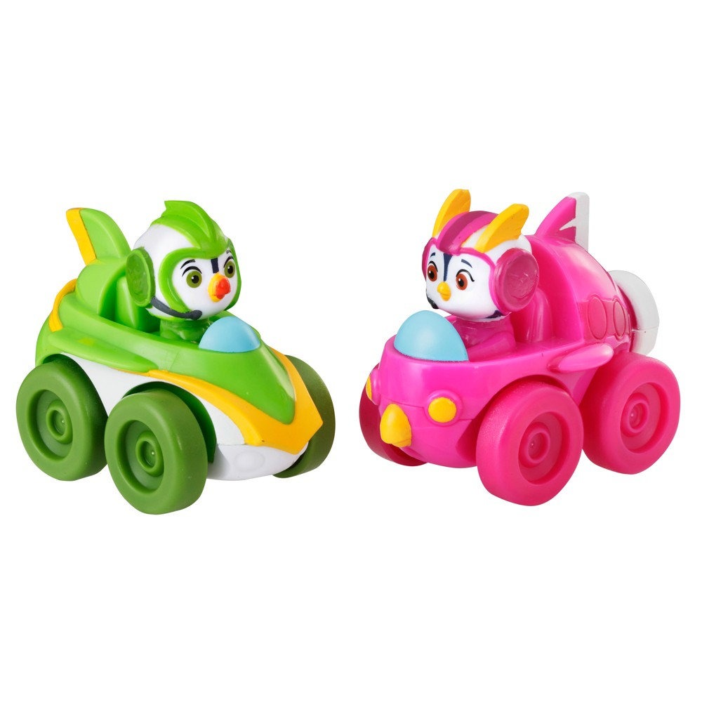 Nickelodeon Top Wing Mission Control Racers - Brody And Penny