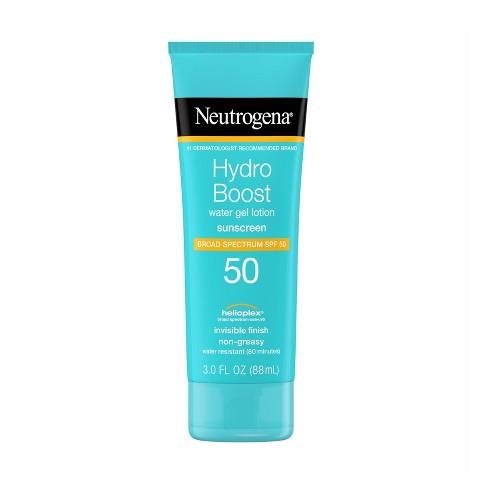 Neutrogena Hydro Boost Gel Moisturizing Sunscreen Lotion - SPF 50- 3 fl oz - image 1 of 4
