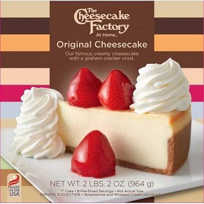 The Cheesecake Factory Frozen Original Cheesecake - 34oz