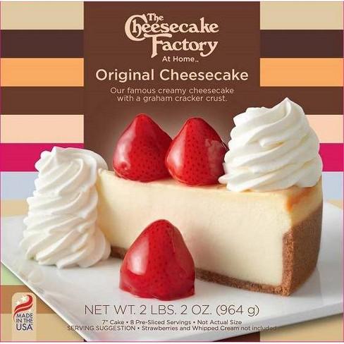 The Cheesecake Factory Frozen Original Cheesecake - 34oz - image 1 of 4