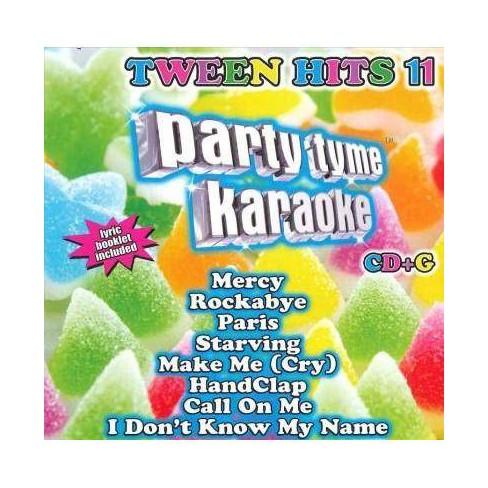 Various - Party Tyme Karaoke: Tween Hits 11 (CD) - image 1 of 1