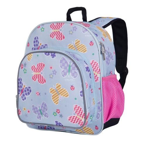 Wildkin Butterfly Garden Blue 12 Inch Backpack - image 1 of 4