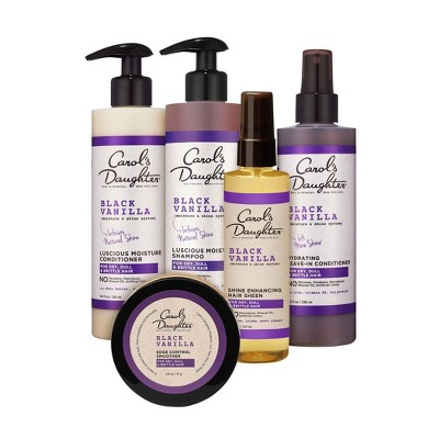 Carol's Daughter Black Vanilla Hair Care Collection