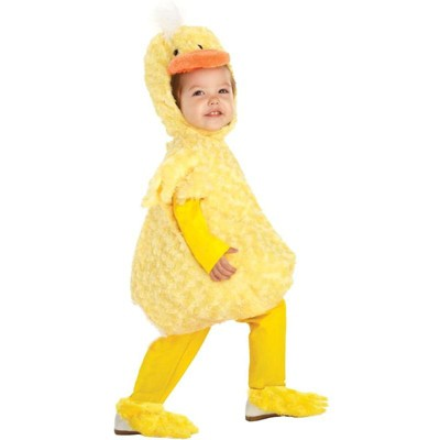 Underwraps Costumes Belly Babies Yellow Duck Costume Child Toddler