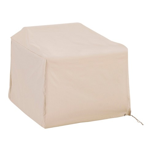 Outdoor Chair Furniture Cover - Cream - Crosley - image 1 of 7
