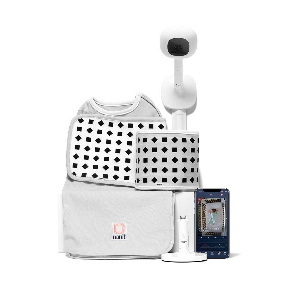 Nanit Complete Baby Monitoring System Bundle, Multicolored