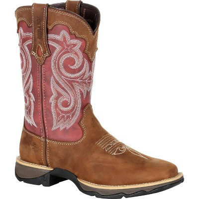 Lady Rebel by Durango Women's Red Western Boot