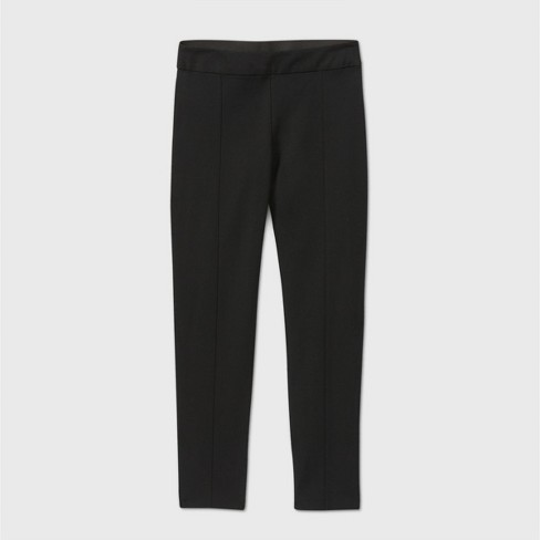 Women's High-Rise Skinny Ankle Pants - A New Day™ Black  - image 1 of 2