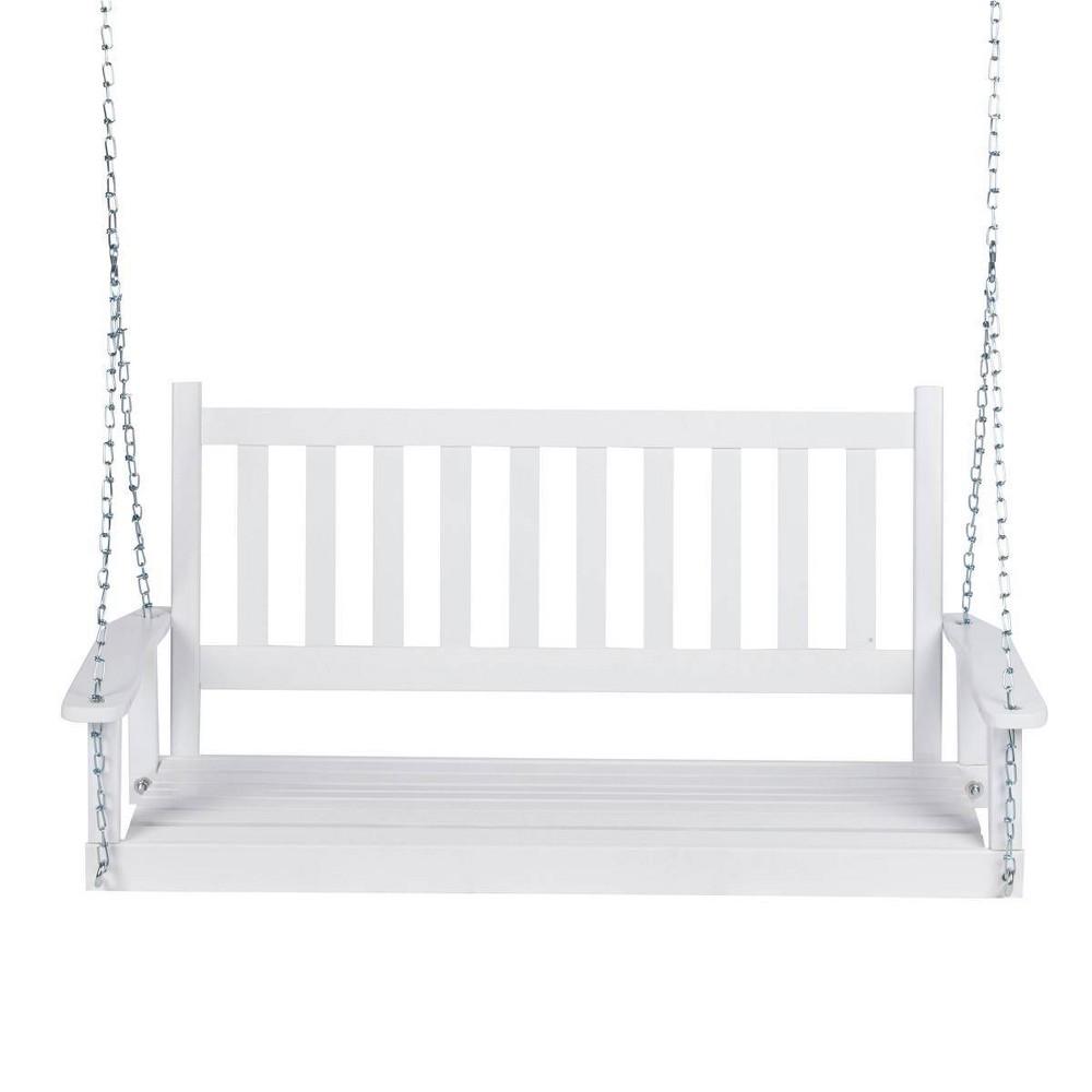 Maine Hardwood Porch Swing White Shine Company Inc