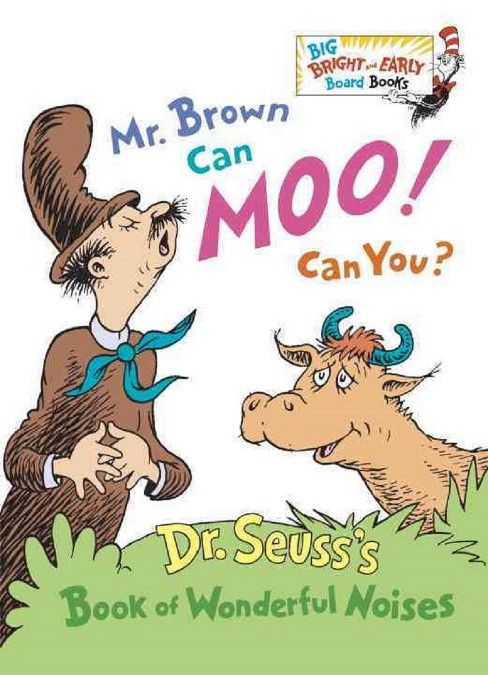 Mr Brown Can Moo Can You ( Big Bright and Early Board Books) - image 1 of 1