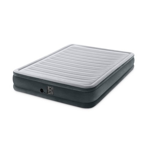 Intex Dura Beam Plus Series Mid Rise Queen Air Bed Mattress with Built In Pump - image 1 of 4
