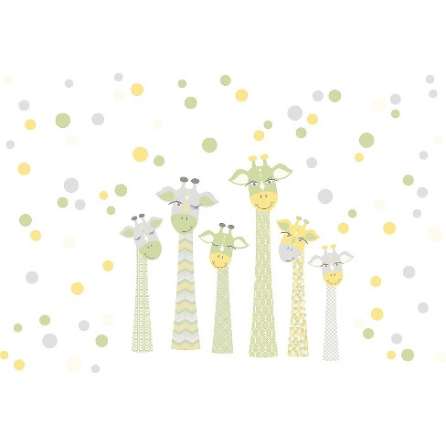 WallPops!® Meet The Fitzgerald's Wall Art Kit - Yellow - image 1 of 2