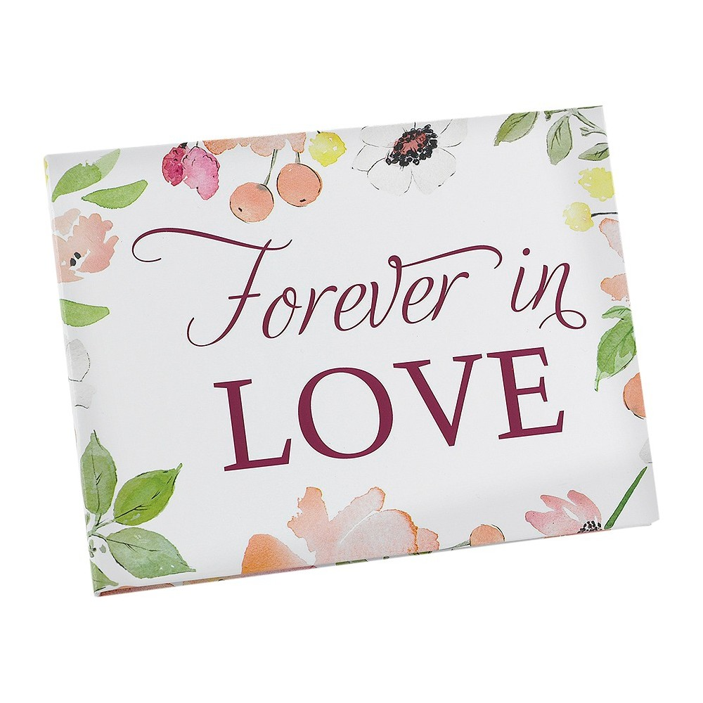 Floral Forever Wedding Guest Book