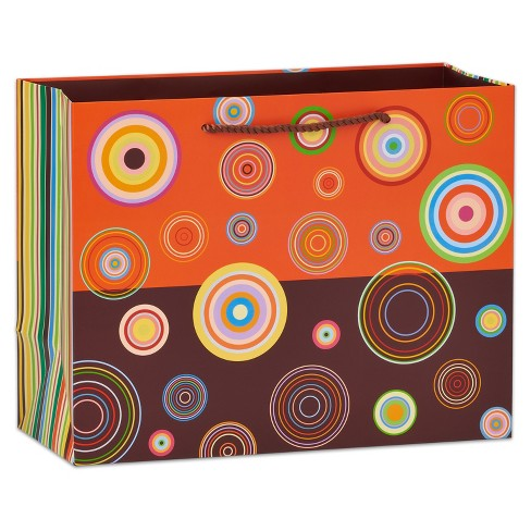 Papyrus Abacus Circles Large Gift Bag - image 1 of 3