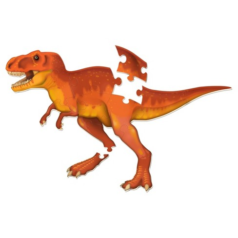 Learning Resources Jumbo Dinosaur Floor Puzzle T-Rex 13pc - image 1 of 6