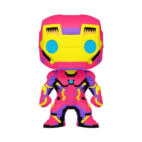 Funko POP! Marvel: Black Light Iron Man (Target Exclusive) - image 1 of 2
