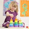 Melissa & Doug Geometric Stacker - Wooden Educational Toy - image 3 of 4