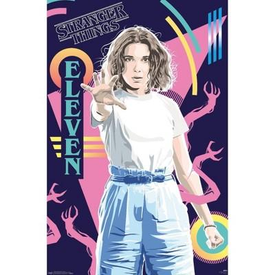 "34"" x 22"" Netflix Stranger Things: Season 3: Eleven Unframed Wall Poster - Trends International"