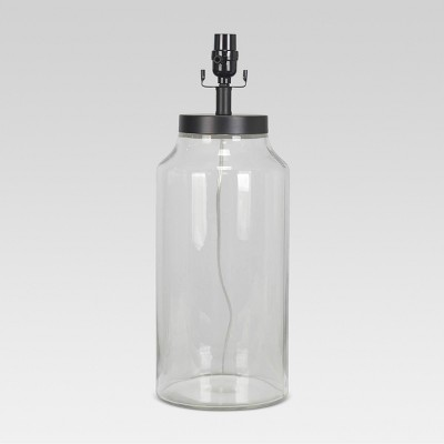 Casual Fillable Large Lamp Base Clear - Threshold™