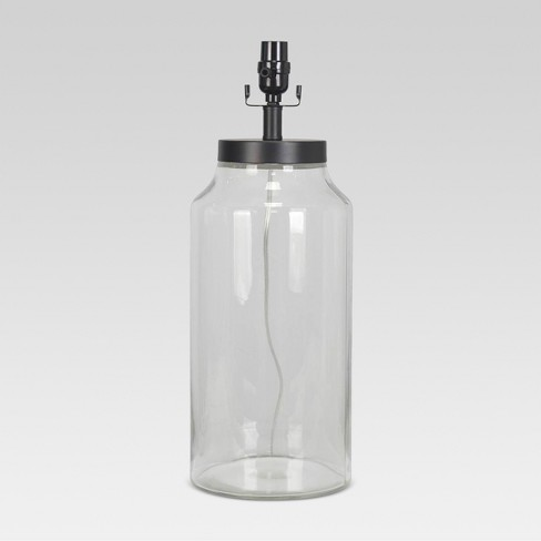 Casual Fillable Large Lamp Base Clear - Threshold™ - image 1 of 1
