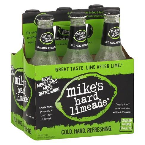 Mike's Hard Limeade - 6pk / 11.2 fl oz Bottles - image 1 of 1