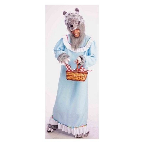 Adult Granny Wolf Halloween Costume - image 1 of 1