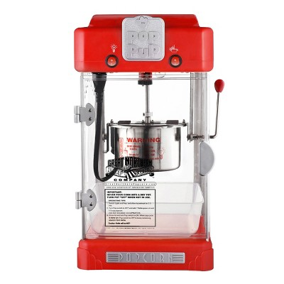 Great Northern Popcorn 2.5 Ounce Portable Popcorn Machine - Electric Countertop Popcorn Maker (Red)