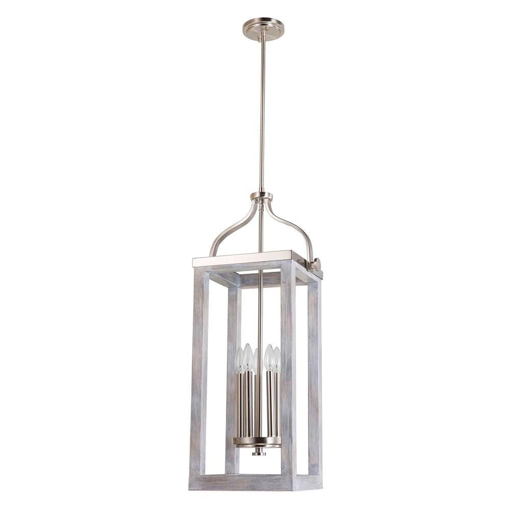 Image of Montrose 5 Light Pendant Silver - EGLO