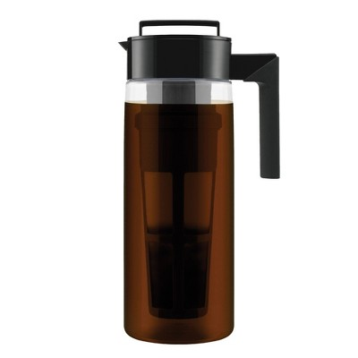 Takeya Two Quart Patented Deluxe Cold Brew Coffee Maker-Black