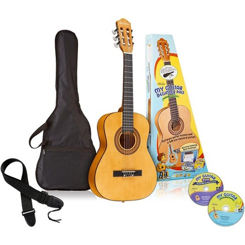 eMedia My Guitar 3/4 Nylon-String Beginner Acoustic Guitar Pack - image 1 of 4