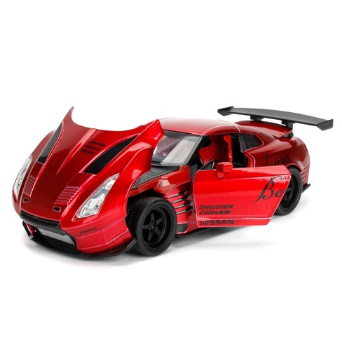 Jada Toys JDM Tuners 2009 Nissan GT-R (R35) Ben Sopra Die-Cast Vehicle 1:24 Scale Candy Red - image 1 of 4
