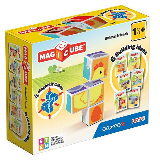 Geomag Magicube Animals Friends image number null