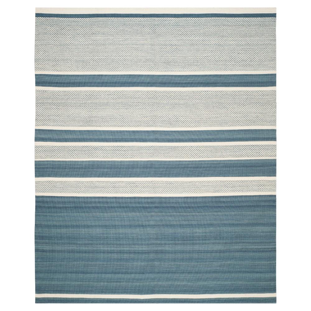 Nico Area Rug - Blue / Ivory (8' X 10') - Safavieh