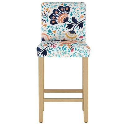 Parsons Barstool Kaya Floral Aqua - Threshold™
