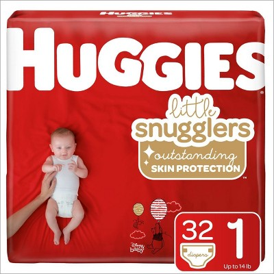 Huggies Little Snugglers Diapers - Size 1 (35ct)