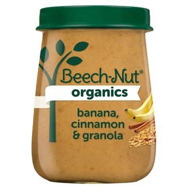 Beech-Nut Organics Banana Cinnamon & Granola Baby Food Jar - 4oz