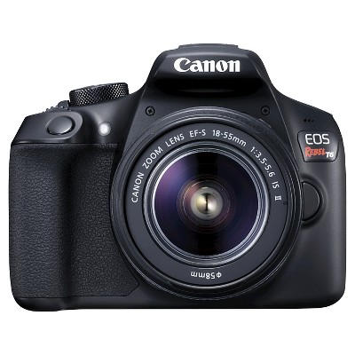 CANON EOS Rebel T6 18-55mm IS II Kit