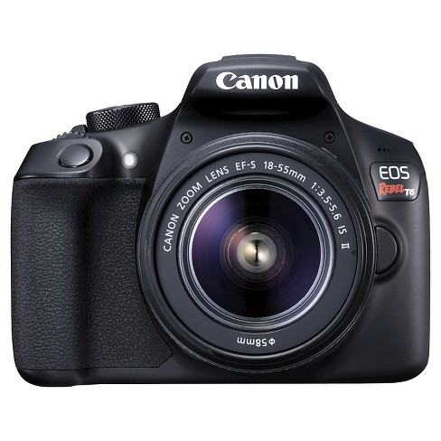 CANON EOS Rebel T6 18-55mm IS II Kit - image 1 of 8