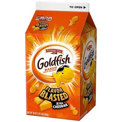 Pepperidge Farms Goldfish Flavor Blasted Xtra Cheddar Crackers - 30oz