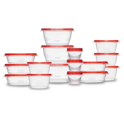 Rubbermaid TakeAlongs Food Storage Containers - 32pk