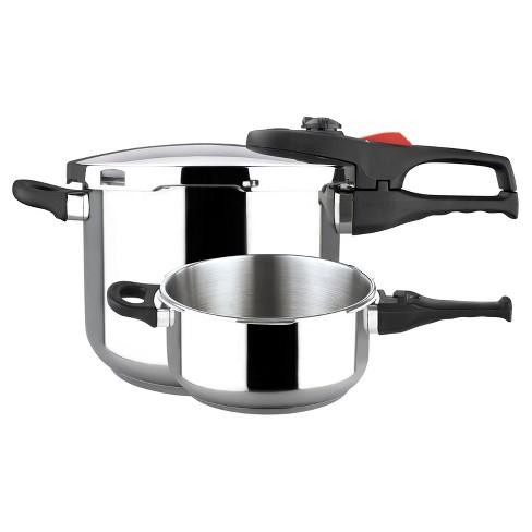 Magefesa Practika Plus Stainless Steel 3pc Pressure Cooker Set - image 1 of 1