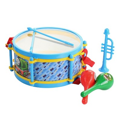 6 Piece Rhythm and Melody Drum Set in Blue