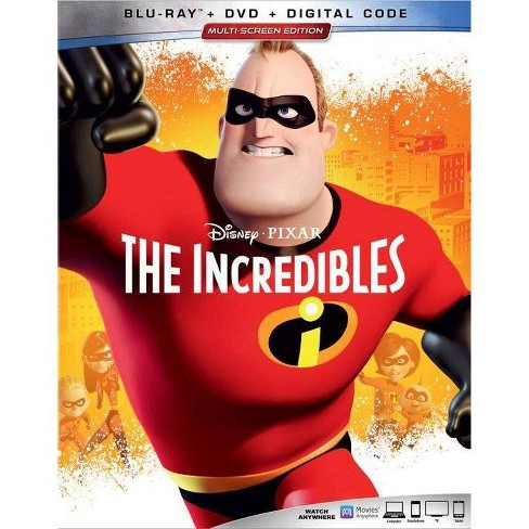 The Incredibles (Blu-Ray + DVD + Digital) - image 1 of 2